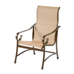Windward West Wind Sling High Back Dining Chair - W2350HBBT
