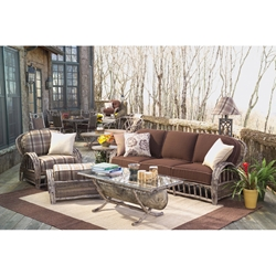 Woodard River Run 5 Piece Patio Sofa Set - WHITECRAFT-RIVERRUN-SET1