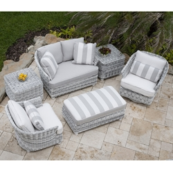 Woodard Sonoma Wicker Outdoor Furniture Set - WD-SONOMA-SET6