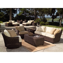 Woodard Sonoma 5 Piece Patio Set - WHITECRAFT-SONOMA-SET5
